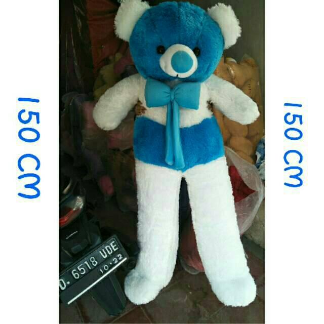 Boneka beruang SUPER BIG JUMBO 150 CM CREAM setinggi orang dewasa TERMURAH  !!!  e8886feacc