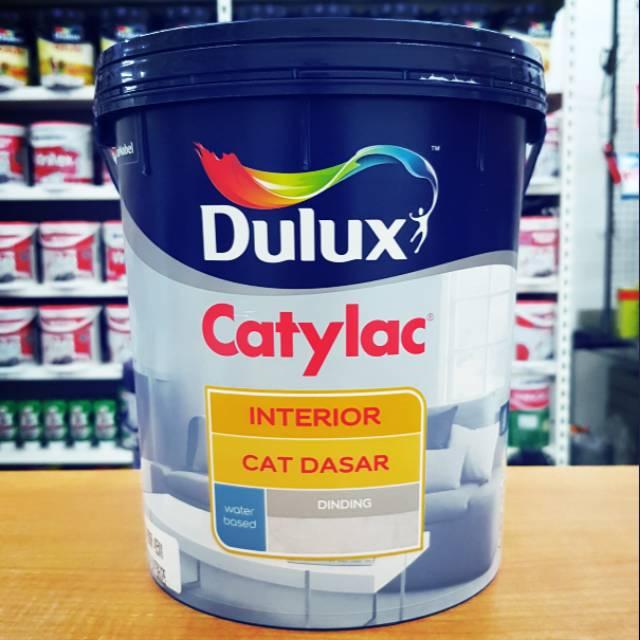 Cat Dasar DULUX CATYLAC INTERIOR 4 KG Shopee Indonesia