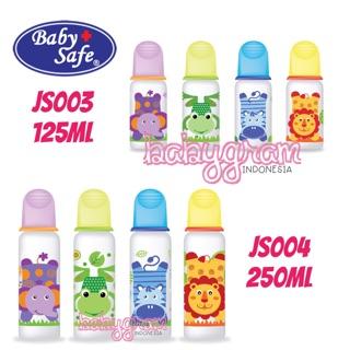 Botol Susu Bayi Baby Safe Babysafe JS003 & JS004 Feeding Bottle 125ml & 250ml
