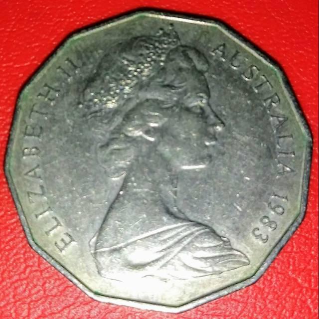 1983 Koin Australia 50 cents