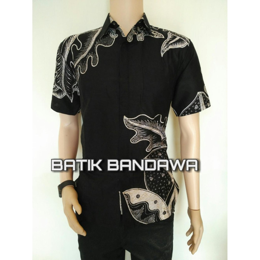 Promo Hem Koko Batik Luqman Berkualitas Shopee Indonesia