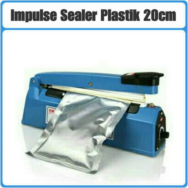 Impulse Sealer PFS 200 20Cm Alat press / Seal Plastik 20CM BAHAN PLASTIK   Shopee Indonesia