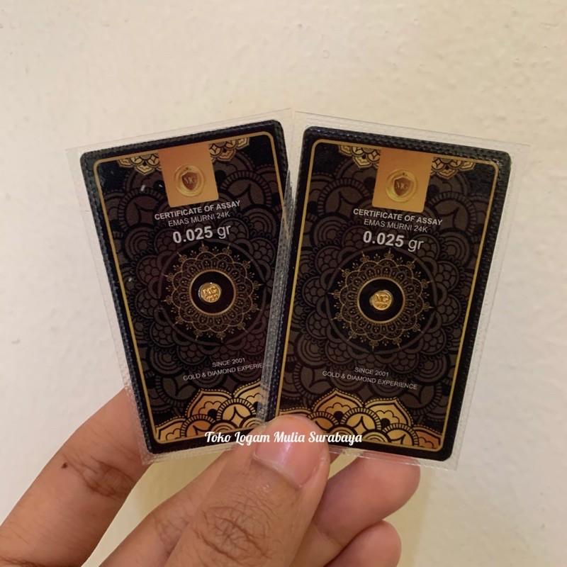 Mini Gold 0,025 gram