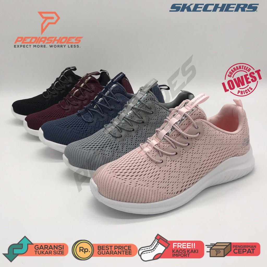 Formación Orgullo cortar  Sepatu Skechers / Sketcher / Skecher Wanita / Skecer Ultra Flex 2.0 - Lite- Groove | Shopee Indonesia