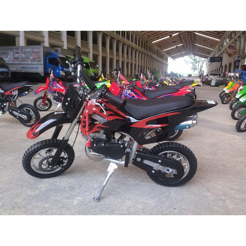 Motor Mini Trail 50cc Raja Anak Indonesia Gratis Ongkir Atv Quad Bike 49cc Produk Berkualitas Shopee
