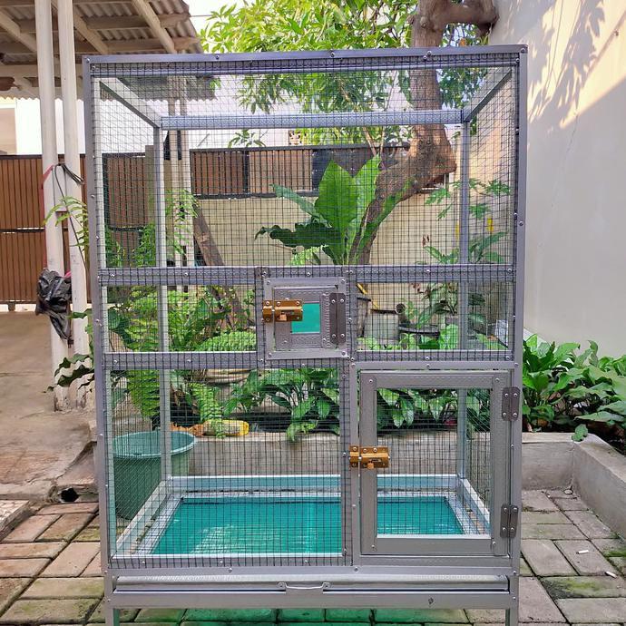 Kandang Koloni Lovebird Shopee Indonesia