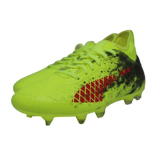 Sepatu Bola Puma Future 18.3 FG Yellow Red Black 13a982ef31