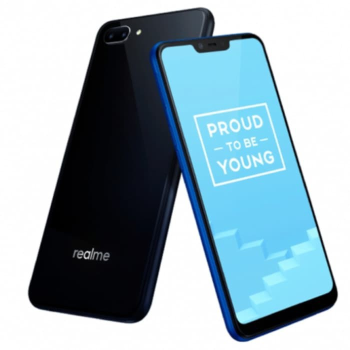 REALME C1 4G LTE FULL VIEW GLOSSY DISPLAY RAM 2 GB ROM 16GB HP DUAL REAR  CAMERA 13MP+2MP 4230mAH