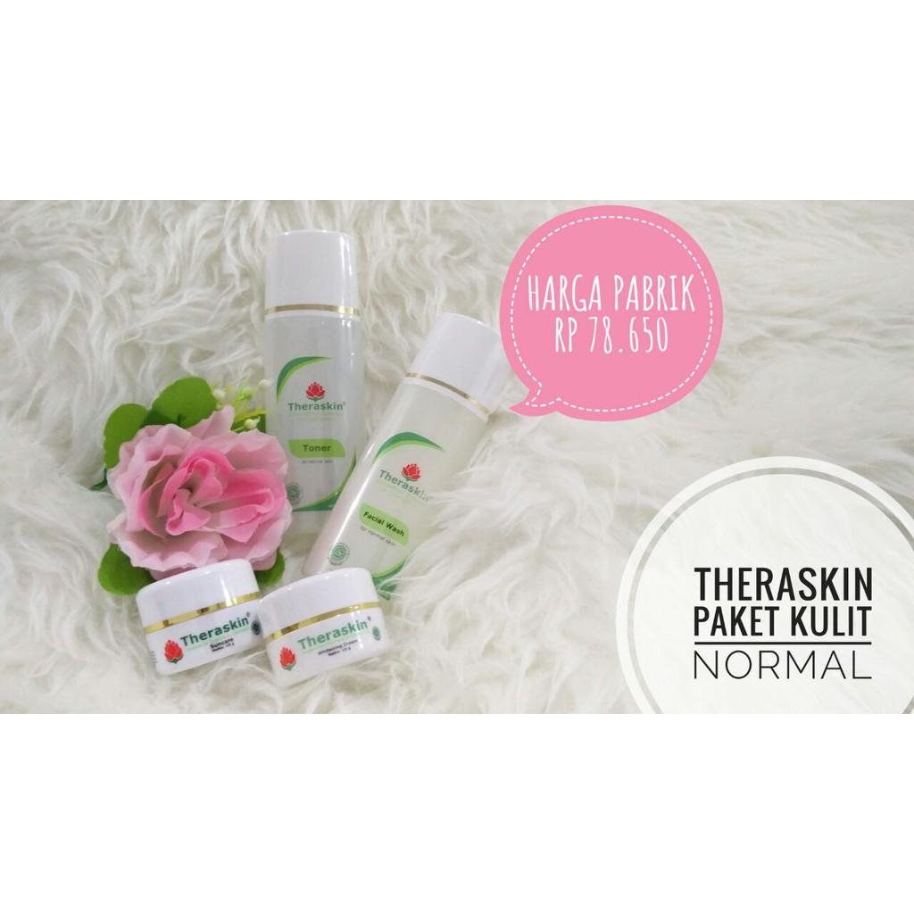 Theraskin Original Paket Normal Whitening Harga Pabrik Shopee Tas Indonesia