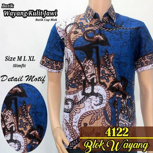 Pakaian Pria Model Kemeja Batik Pria Kemeja Batik Pekalongan Baju Batik  Cowok Baju Batik Kantor  8628757979