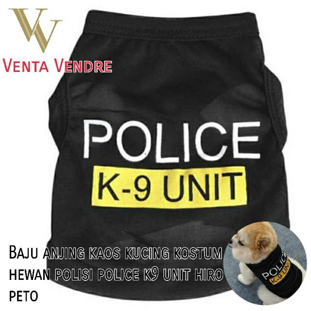 "Baju Anjing Kucing / Kaos Anjing / T-shirt Anjing / Kaos ""Vacation"" | Shopee Indonesia"
