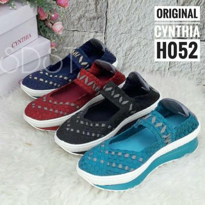 Sepatu rajut anyam original cynthia / bernice tipe H540   Shopee Indonesia