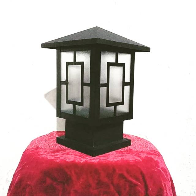 LAMPU HIAS TAMAN PILAR TEMBOK PAGAR MINIMALIS V11 | Shopee Indonesia