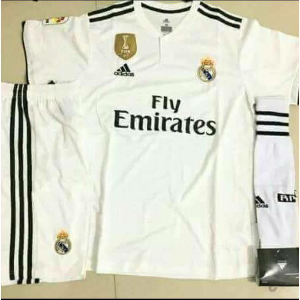 6c8a031c0748 promo Jersey RETRO Real Madrid Away 2000 2001 OFFICIAL Cetak nama FONT RETRO    Shopee Indonesia