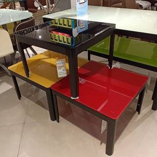 Myria Coffee Table Meja Tamu Tv Informa Murah Minimalis Rak Tv Putih Shopee Indonesia