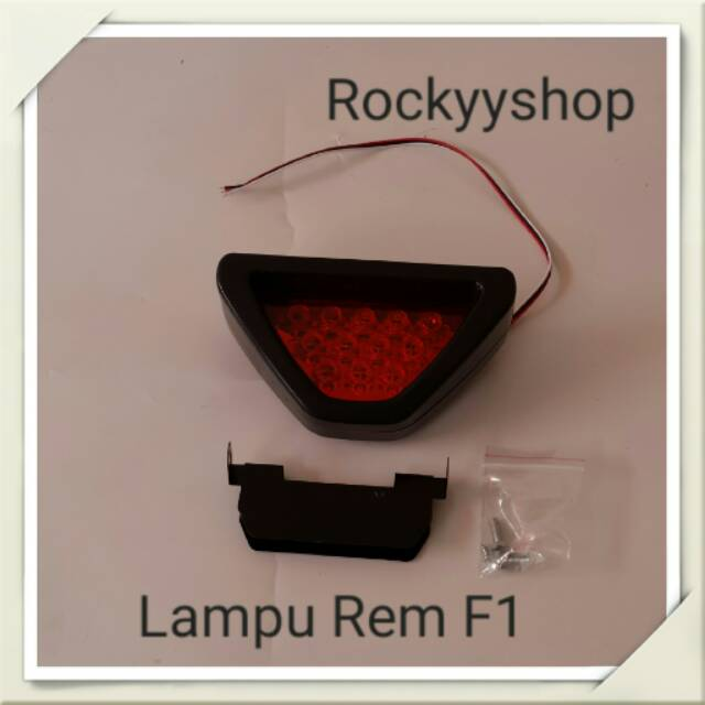 Break Stoplamp F1 Segitiga/Led Stolamp/Lampu Rem F1/Panorama76   Shopee Indonesia