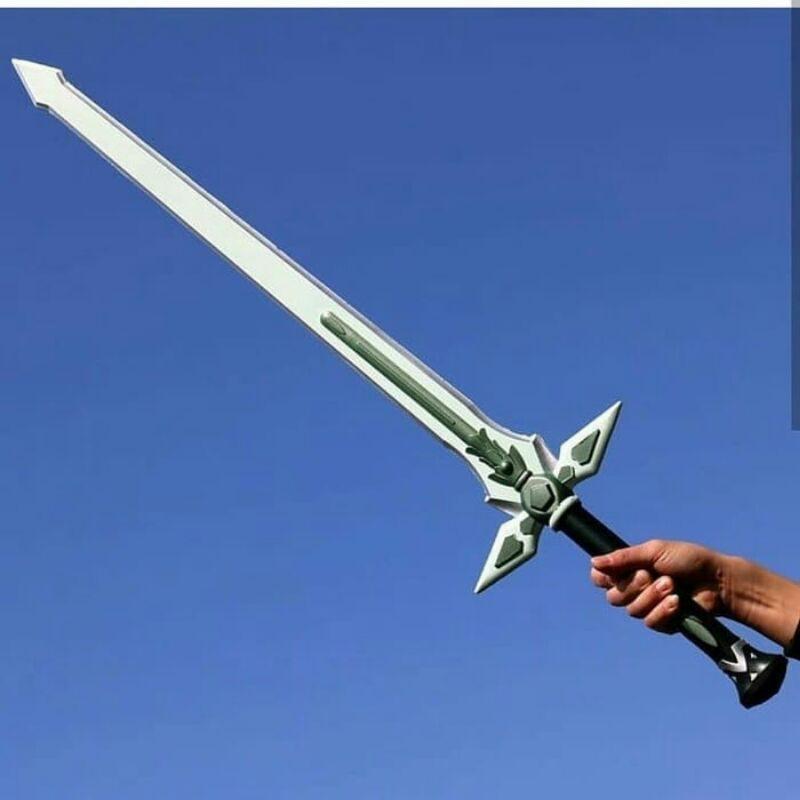 PEDANG KIRITO DARK REPULSER - PEDANG COSPLAY SAO - PEDANG SWORD ART ONLINE