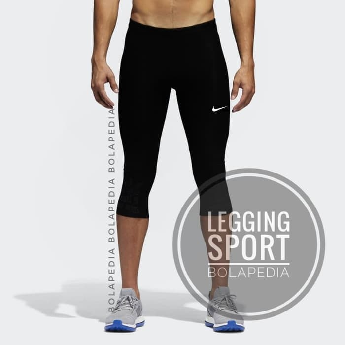 Celana Manset 3 4 Baselayer Legging Leging Olahraga Training Diving Renang Strech Cowok Shopee Indonesia