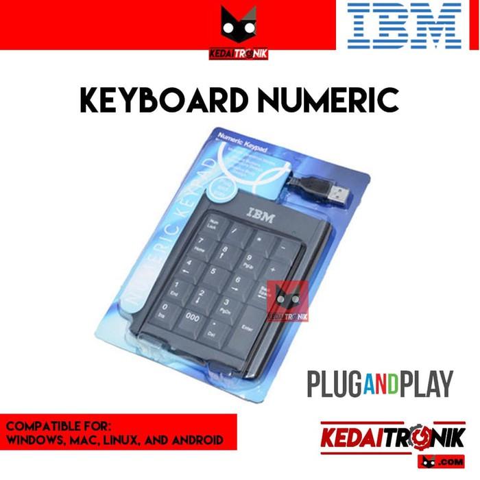 Keyboard Numeric Keypad Angka Pad Numpad USB Mini Numerik ...