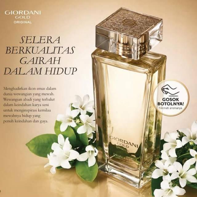 Oriflame Giordani Gold Original Eau De Parfum Shopee Indonesia
