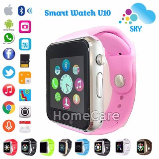 Hc Sky U10 A1 Smart Watch Jam Tangan Iwatch Full Colour Handphone