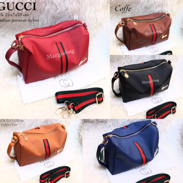 TAS GUCCI MARC JACOBS KANVAS CANVAS IMPORT SUPER sling bag clutch gucci mj tas  selempang mini kecil  ff1facdb5e