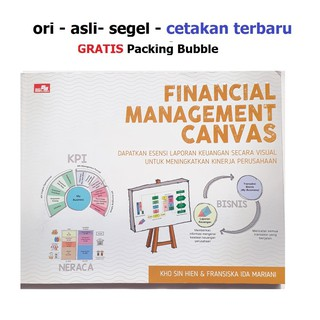 Buku Manajemen Financial Management Canvas Laporan Keuangan Visual Kho Sin Hien Bk4828 Shopee Indonesia