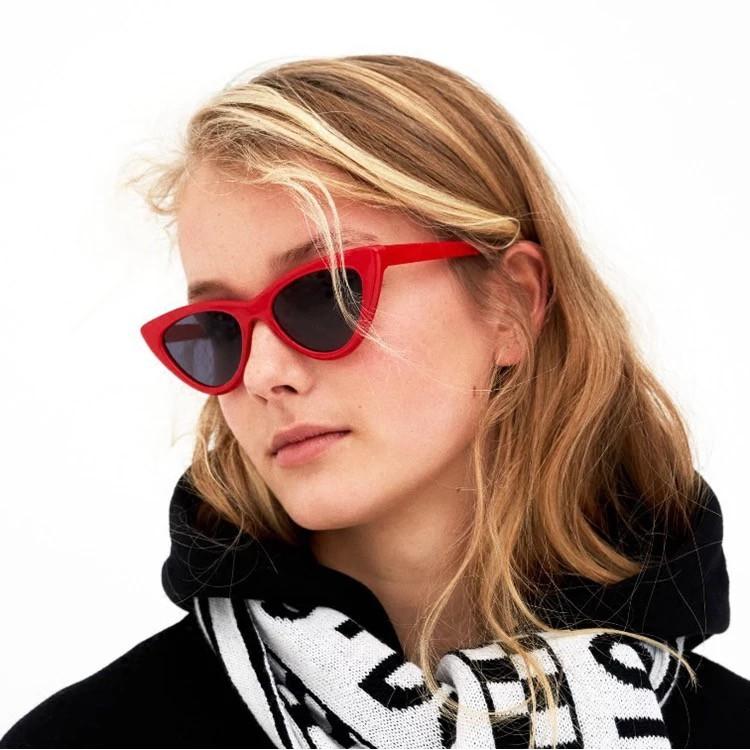 ✨Bayar di Tempat✨Western Siamese Square Candy Color Kacamata Hitam Wanita Pria  Sunglasses Women Men  c9601719e9