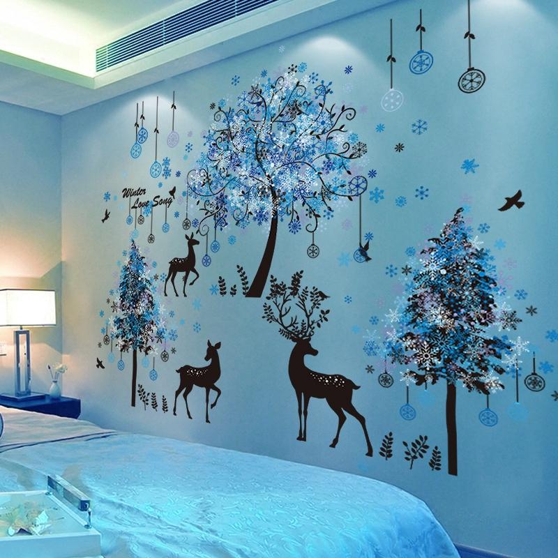 Stiker Dinding Wallpaper 3d Dengan Perekat Untuk Dekorasi Kamar Tidur Anak Perempuan Shopee Indonesia