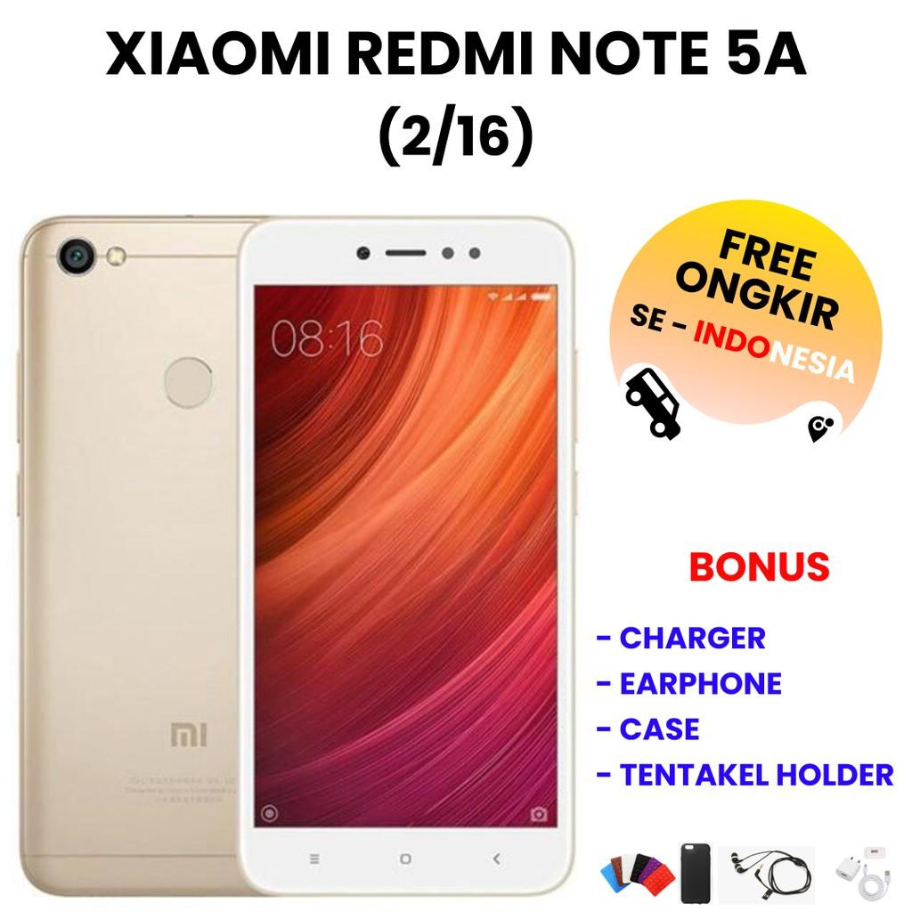 XIAOMI REDMI NOTE 5A 2/16 | HP Bekas | Smartphone Bekas | Handphone Bekas | Handphone Murah | HP OrI