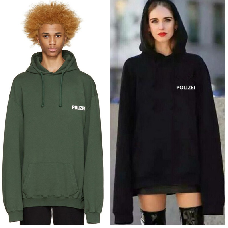 2018 Europe Hip Hop Collection Men Women Hoody Pullover Quality Kanye West Vetements Shopee Indonesia