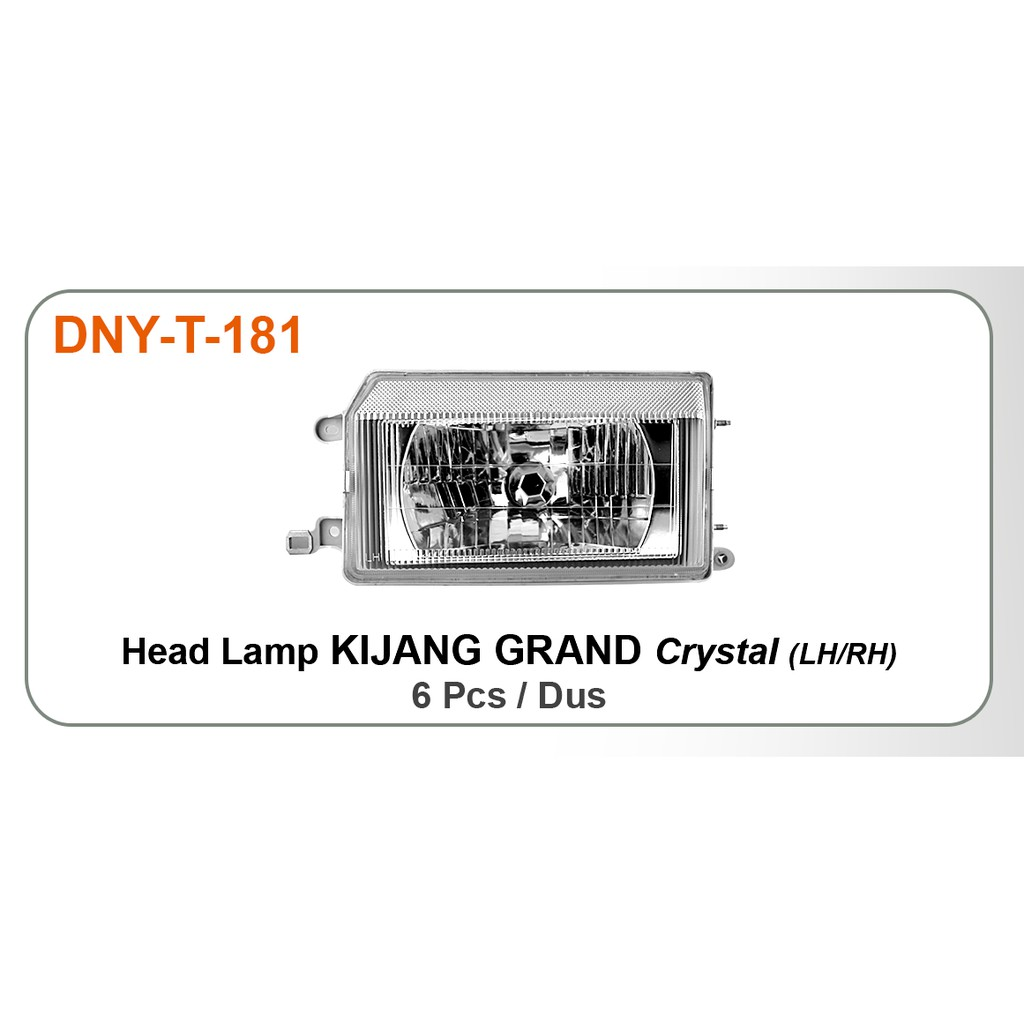 Head Lamp Lampu Depan Panther Touring Shopee Indonesia Stop T 120ss Crystal