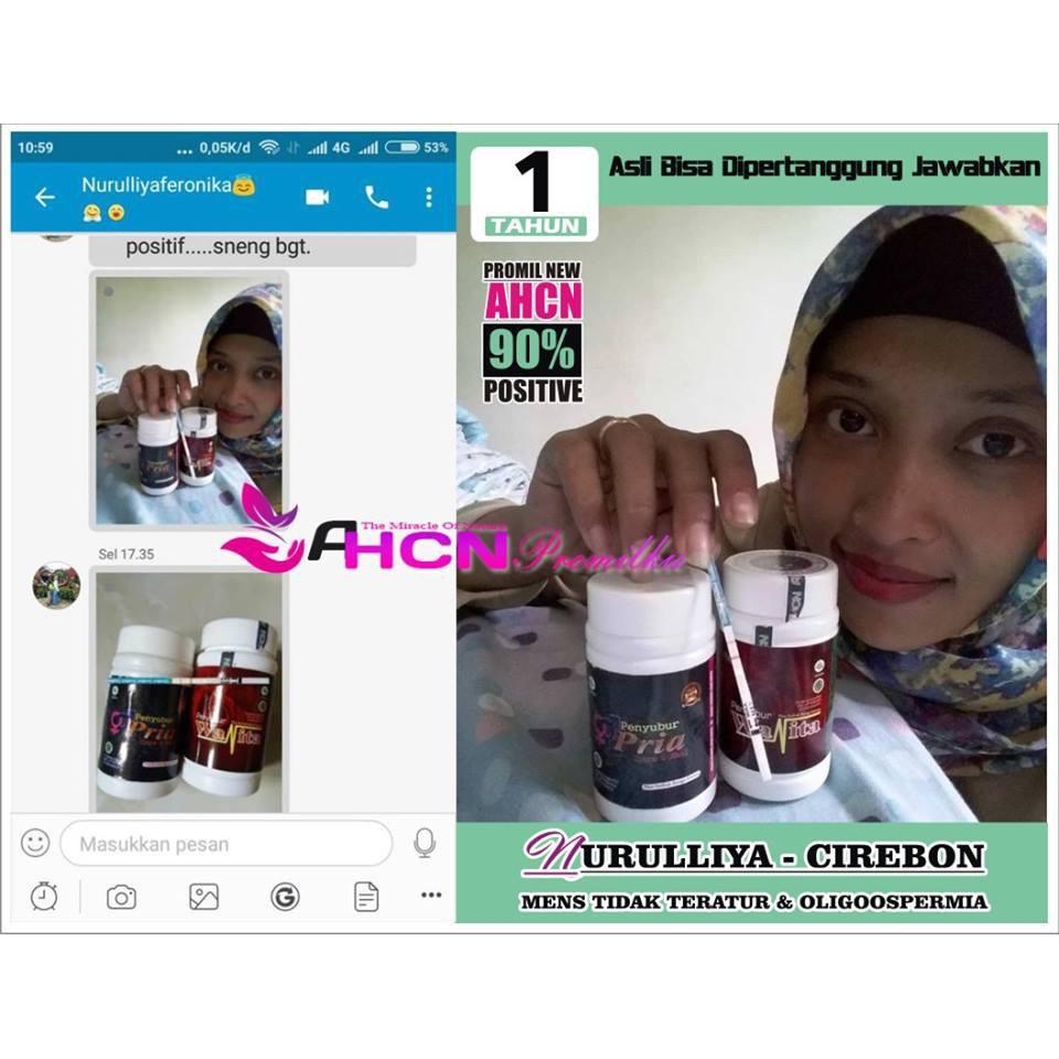 Paket Promil Ahcn Herbal Obat Kesuburan 90 Positif Hamil Shopee New Formula Penyubur Kandungan Indonesia