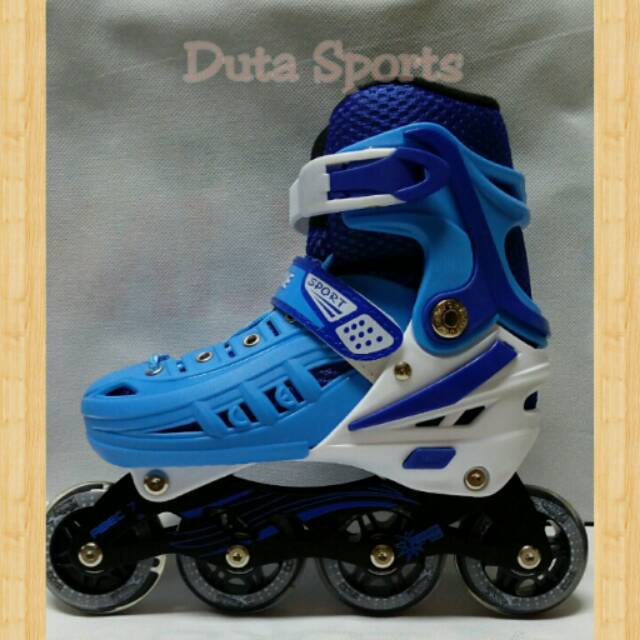 Sepatu roda Inline Skate Lynx BM 135 ( Blue Blue )  11c0f979a6