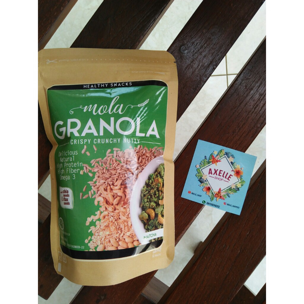 Mola Granola - Matcha/Greentea .