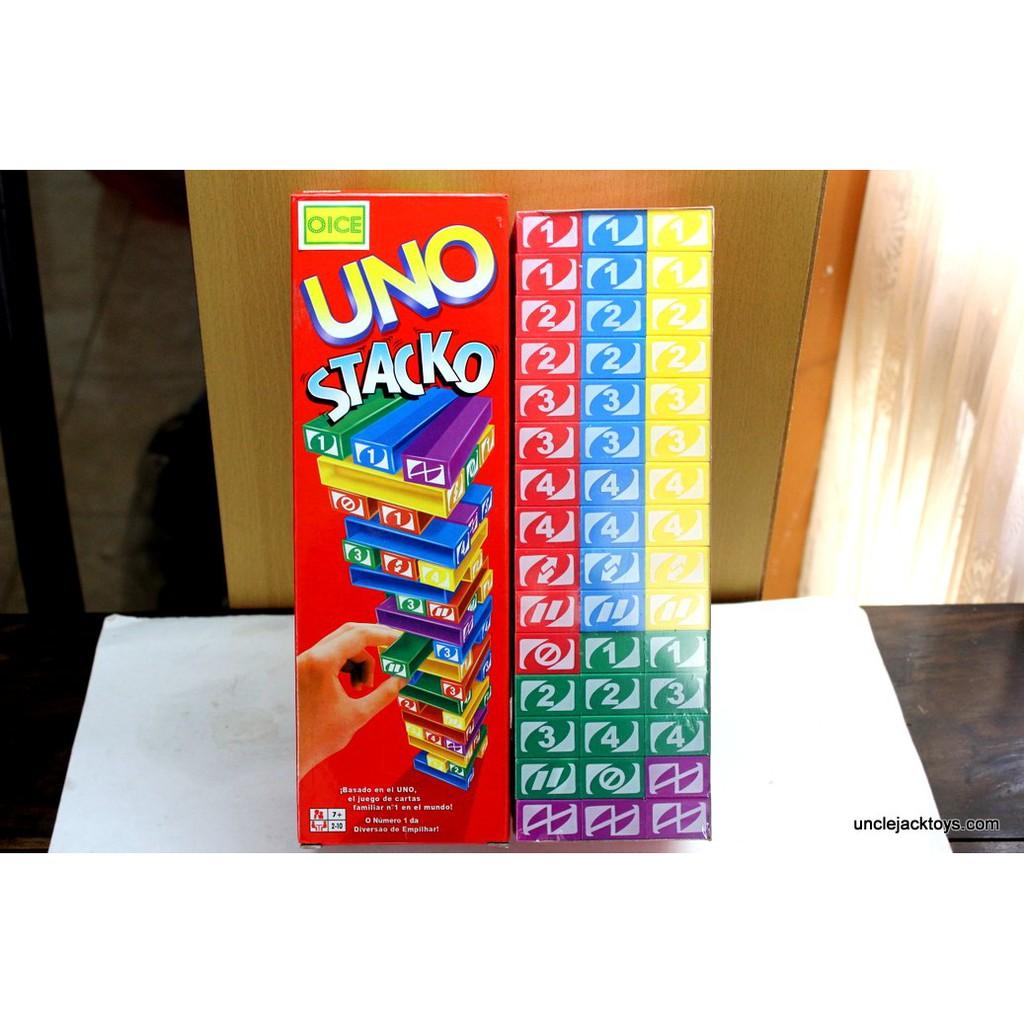 Paket Uno Stacko Dan Kartu Shopee Indonesia Game