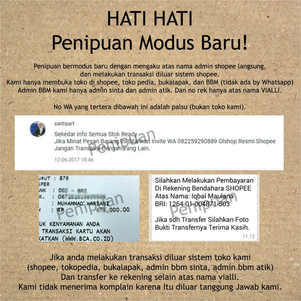 Hati Hati Penipuan Modus Baru Shopee Indonesia