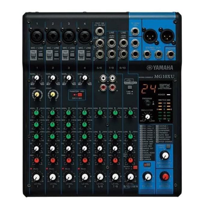 audio mixer yamaha mg10xu original mixer yamaha (10chenel) | Mixer Audio