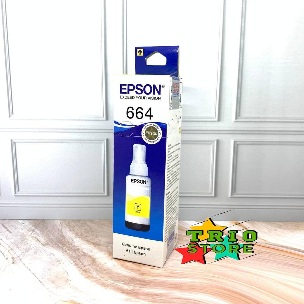 Tinta Epson 664 For Ink Printer L100/L120/L200/L210/L220/L310/L360-Yellow/Kuning