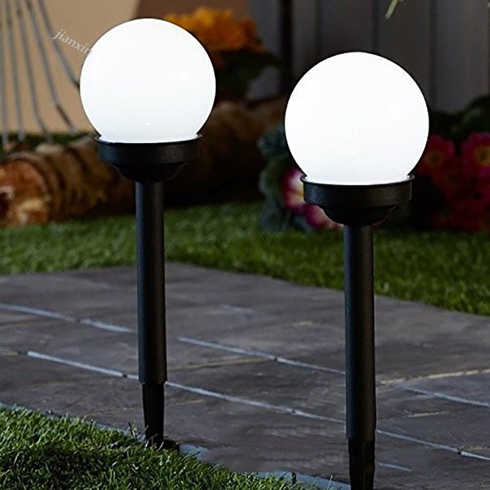 Bayar Di Tempat Jx 2pcs Lampu Taman Led Tenaga Surya Bentuk Bola Bulat Untuk Outdoor Shopee Indonesia