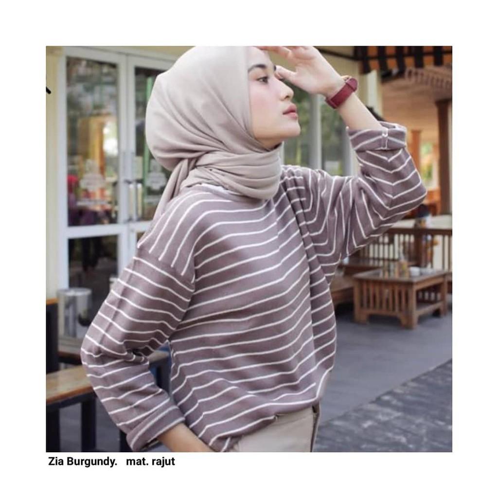 Sweater Wanita Zia Bw Blaster Shopee Indonesia Roundhand Secker Sj0015