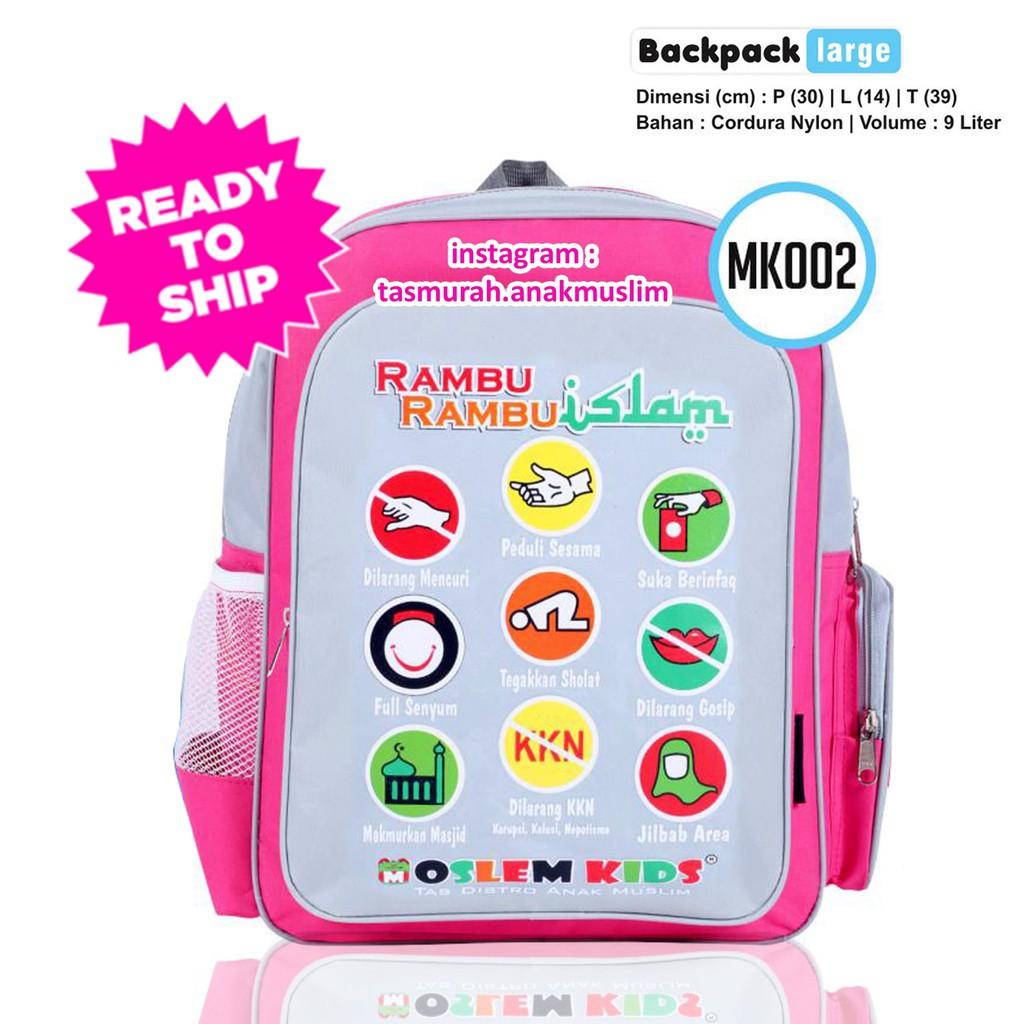 Tas Anello Ransel Backpack Slingbang Anak Fashion Import ZM0425   Shopee Indonesia