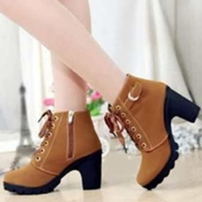 >>Terlaris<< Sepatu Wanita Boot Tan - Bt02 <<< | Shopee. >>