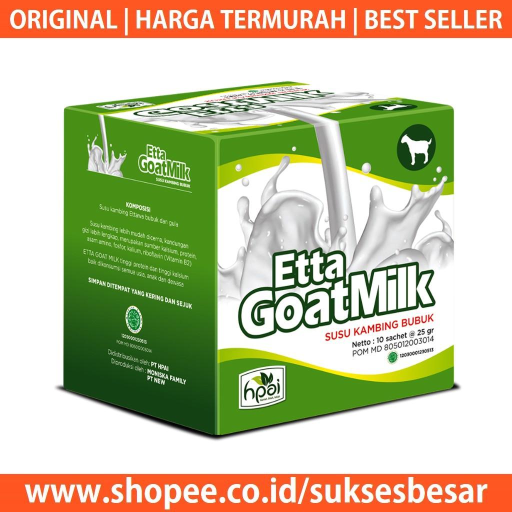 Susu Kambing Ettawa Etawa Etta Goat Milk Hpai Ibu Hamil Bayi Sky Lansia Mengobati Asma Diabetes Shopee Indonesia