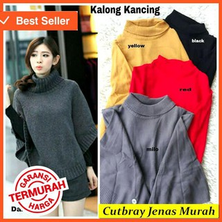 Baju Rajut Wanita Model Kalong All Size Fit Xl Big Size Banyak Warna ... c836309648