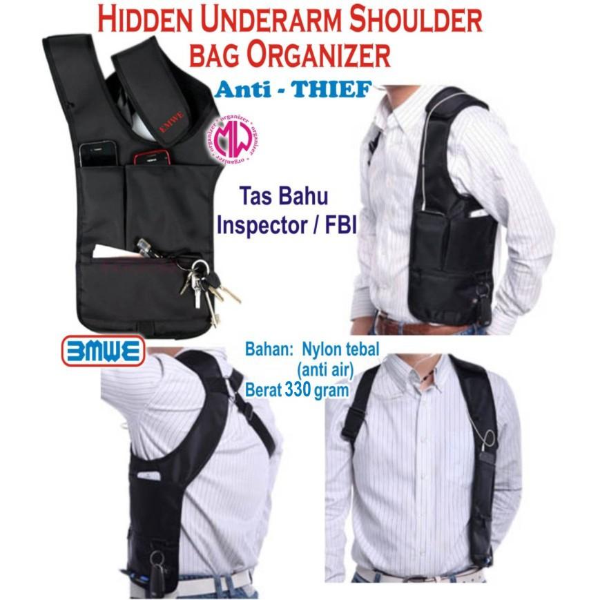 Tas gadget FBI TAS Pundak pria tas selempang polisi tas bahu tas model fbi  tas agen 007 sling bag  7d875636e7