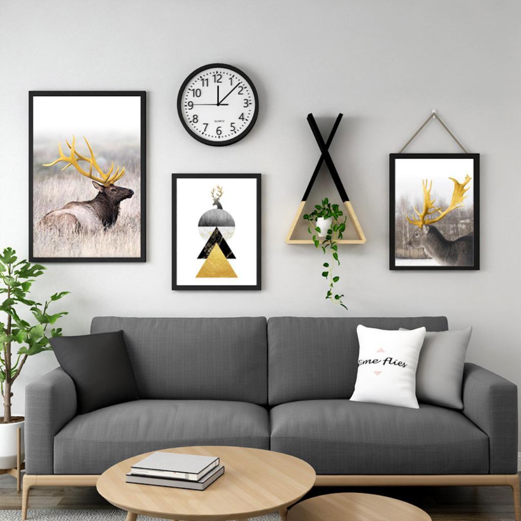 Lukisan Dinding Desain Simple Modern