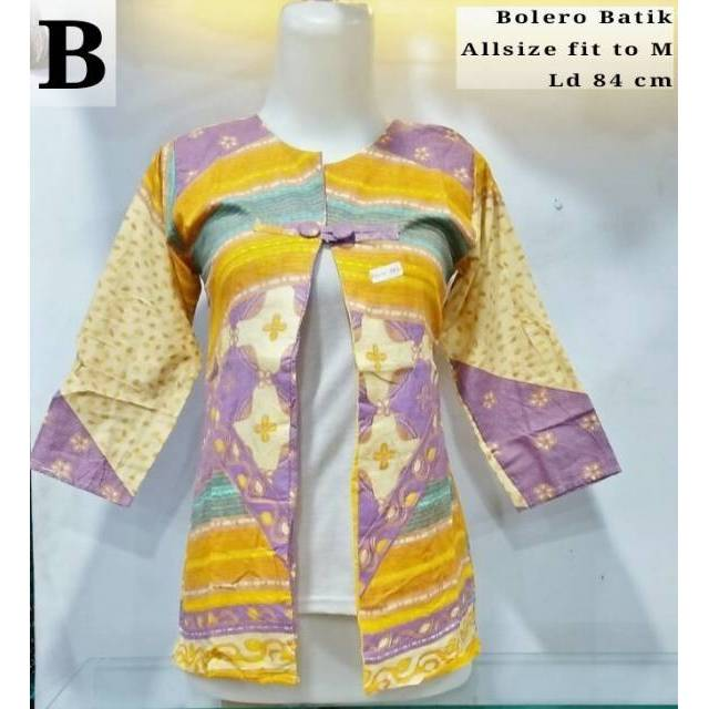 Bolero batik terbaru Bolero batik Kardigan Cardigan batik  8ade254723