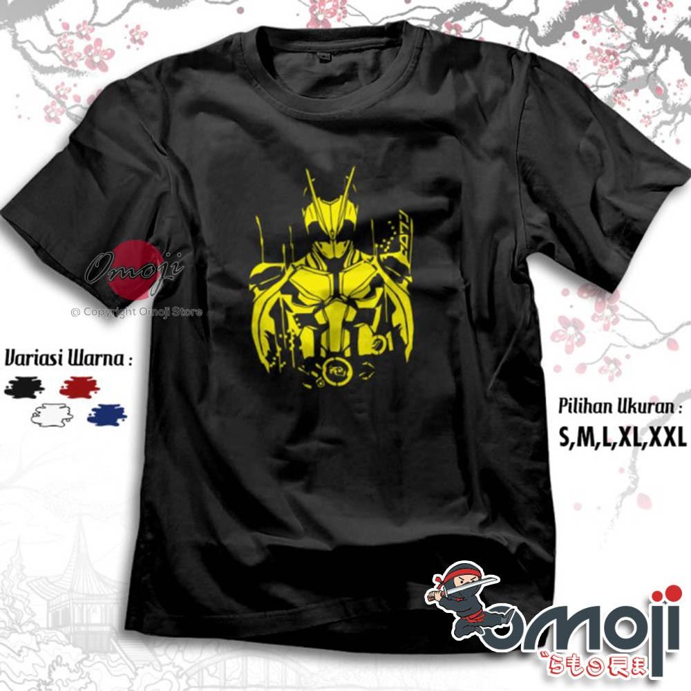 Kaos Manga Kamen Rider Zero E Premium Manga Kartun Jepang Tshirt Baju Distro Omoji 2696