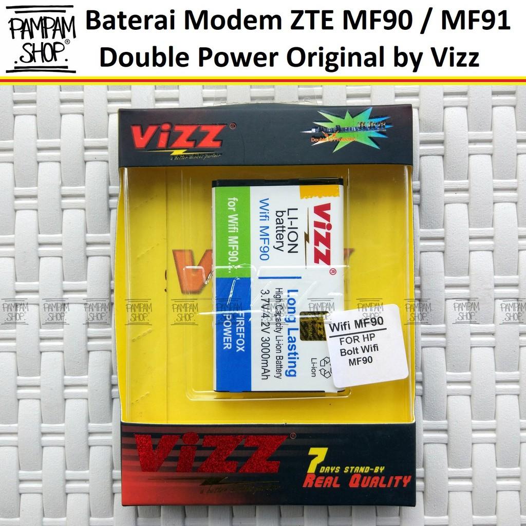 Baterai Modem Smartfren Mifi Andromax M2y Original Double Power Vizz Mi Fi H15348 H11348 Battery Batrai Batre Shopee Indonesia